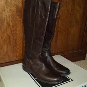 Frye Phillip Harness tall riding boot